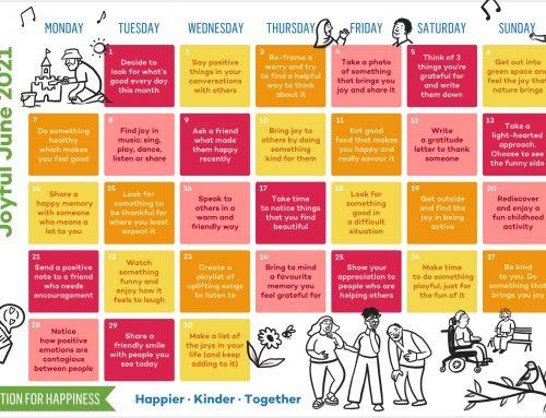 Action for Happiness Calendar